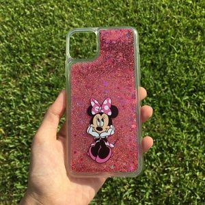 Minnie Mouse Disney Quicksand iPhone Case